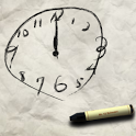 Scribble Clock icon
