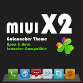 MIUI X2 Go/Apex/ADW Theme FREE