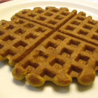 Banana Teff Walnut Waffles