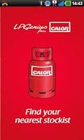 Screenshot of Calor Gas Stockists