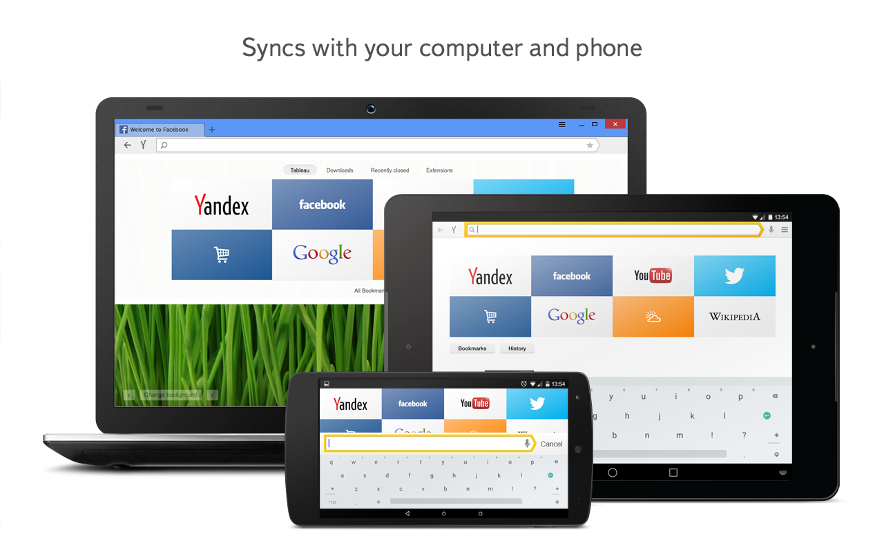 Yandex Browser Beta- screenshot