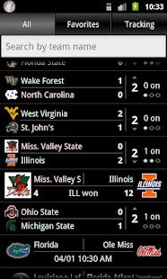 College Baseball Tracker - screenshot thumbnail