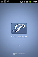 Screenshot of Profession