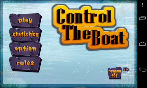 Control The Boat