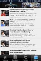 Screenshot of MLM Skills Training