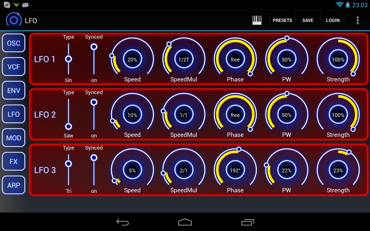Heat Synthesizer Pro- screenshot