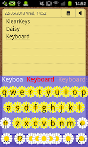 KlearKeys Daisy Keyboard screenshot 1