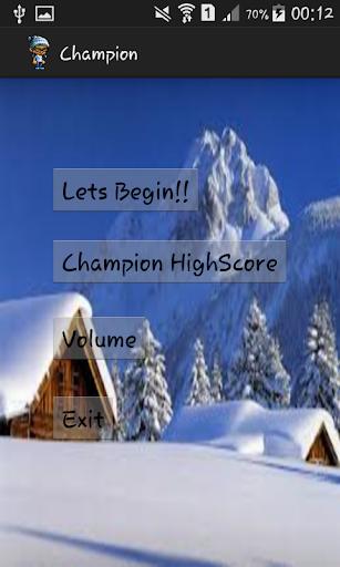 Snow Boy Champion