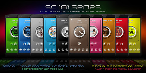 RX SC 161 Zooper skins