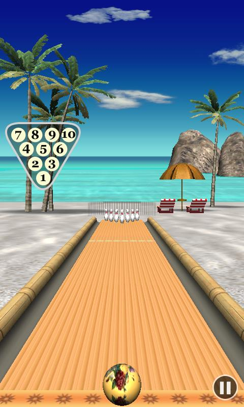 Bowling Paradise 3D - screenshot