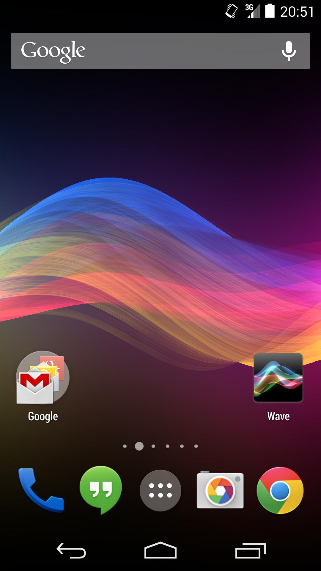Wave screenshot #1