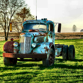 Fire Me Up by Julie Dant - Transportation Automobiles ( old vehicles, rusty trucks, trucks, old trucks, antique trucks )