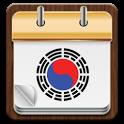 Taegeuk a calendar icon