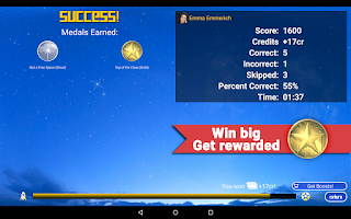 Screenshot of Blast Trivia