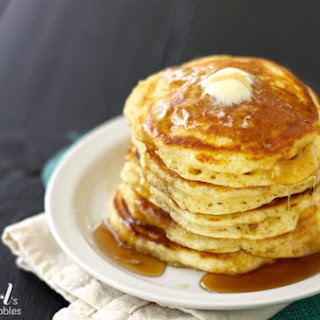 Buttermilk Pancakes {my family.