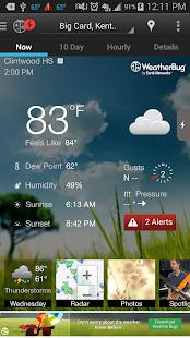 WeatherBug - screenshot thumbnail