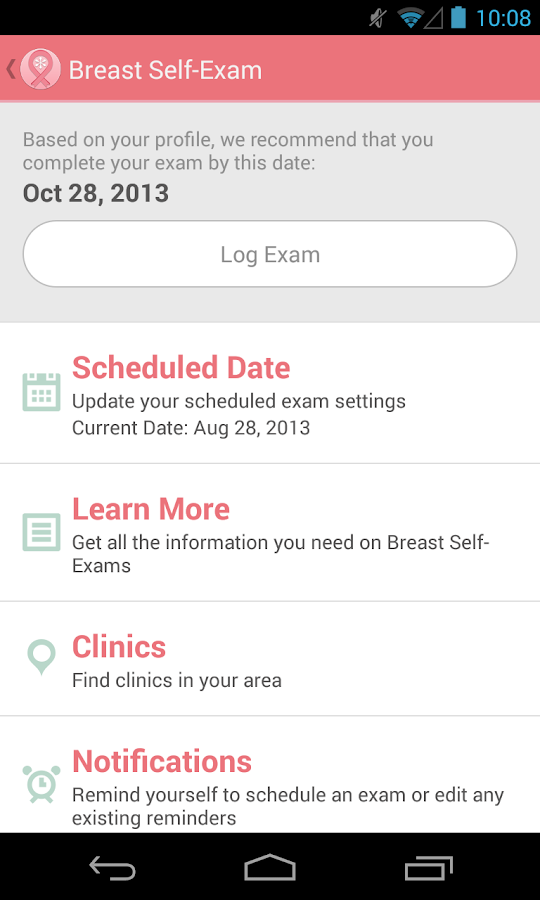 Early Detection Plan - screenshot