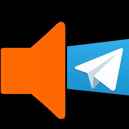 Mensajes TELEGRAM a voz.TToVoz LOGO-APP點子