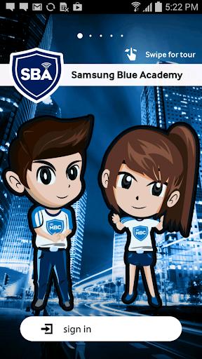 Samsung Blue Academy MY