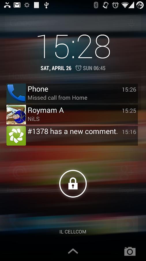 NiLS Lockscreen Notifications - screenshot