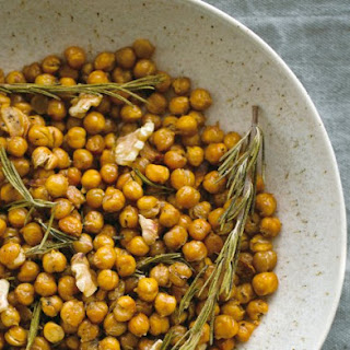 Baked Chickpeas With Toasted Walnuts, Rosemary And Chili