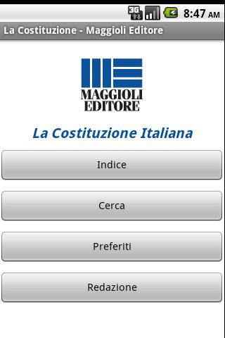 La Costituzione Italiana- screenshot