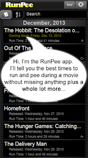 RunPee - screenshot thumbnail