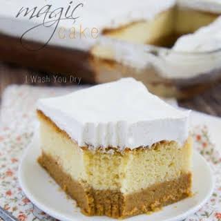 Pumpkin Magic Cake.