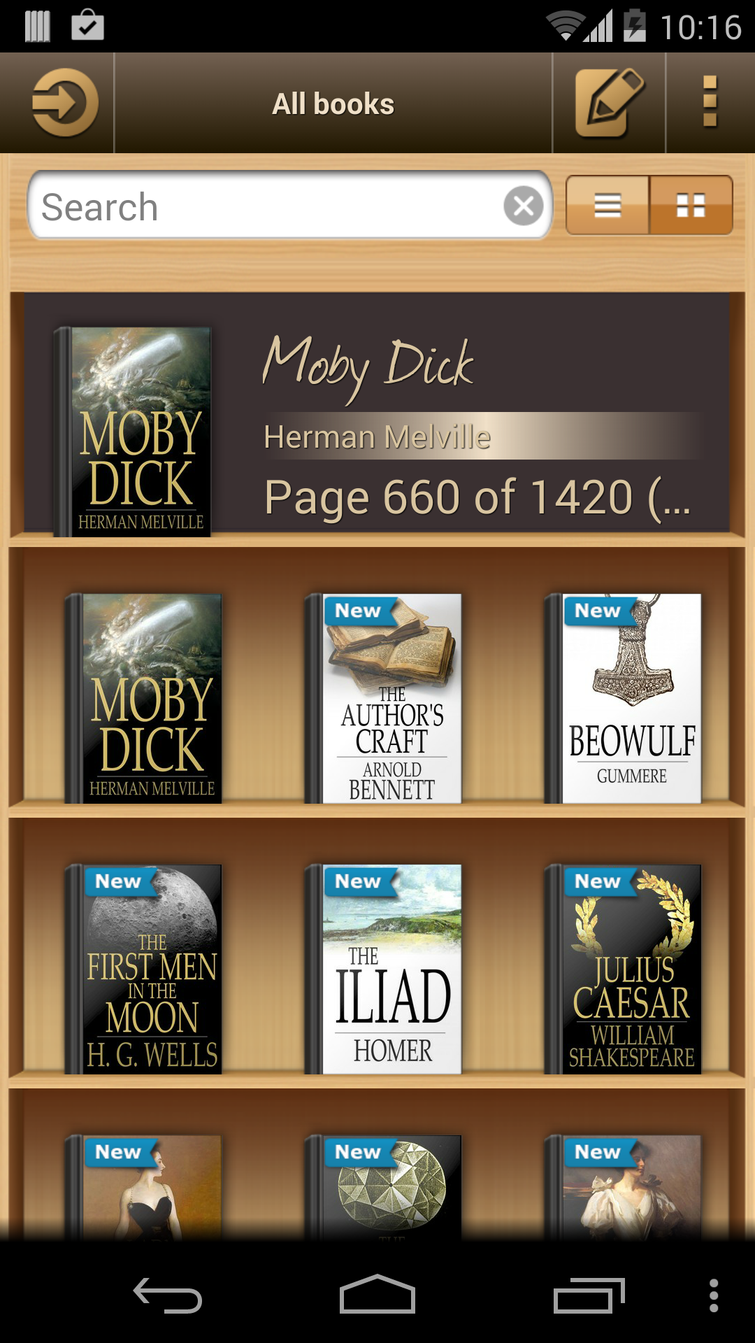 Ebook Reader screenshot #1