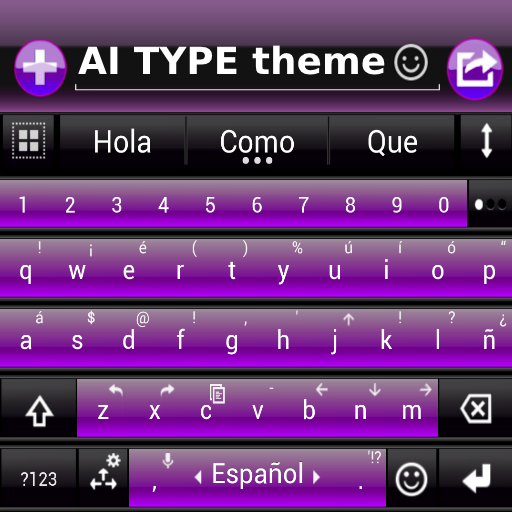 THEME FOR AI TYPE BLACK PURPLE file APK Free for PC, smart TV Download