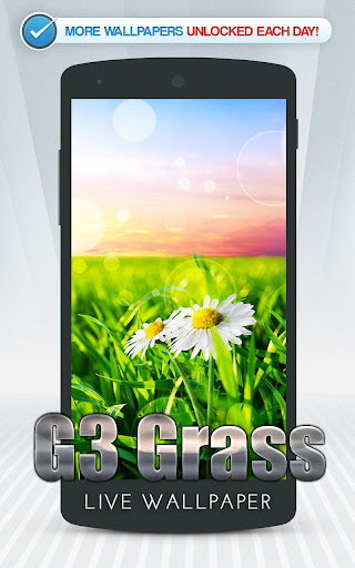 G3 Grass Live Wallpaper
