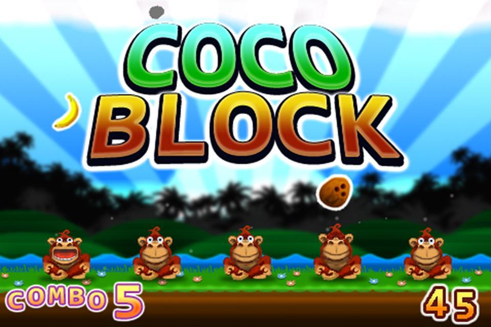 Coco Block - Coconuts Evader - screenshot