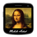 Mobile Artist. icon
