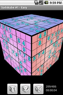 Sudokube - 3D Sudoku- screenshot thumbnail