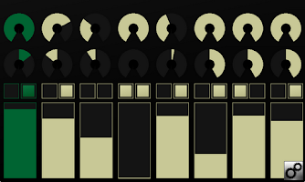 Screenshot of OSCPad