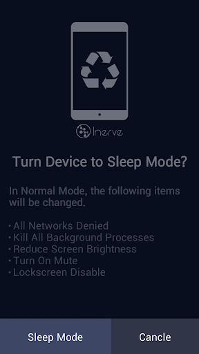 Save Battery - Phone Sleeper