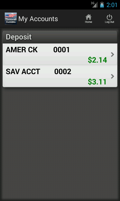 American Trust Freedom Banking - screenshot