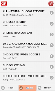 The Gluten Free Scanner - screenshot thumbnail