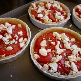 Goat Cheese and Tomato Tart Recipe