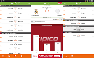 Screenshot of Futbol24