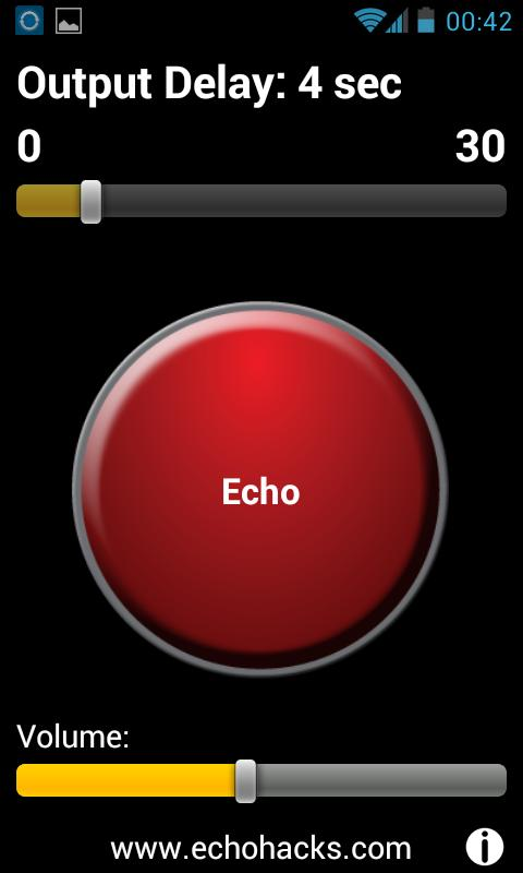 EchoHacks® Speech Trainer- screenshot