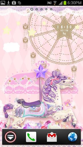 Pastel Carousel Live Wallpaper