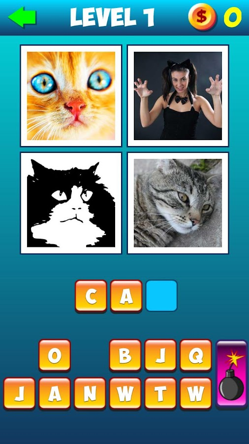 Whats The Word: 4 pics 1 word- screenshot