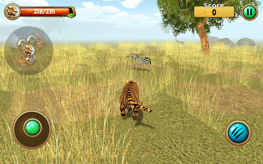 Wild Tiger Simulator 3D screenshot