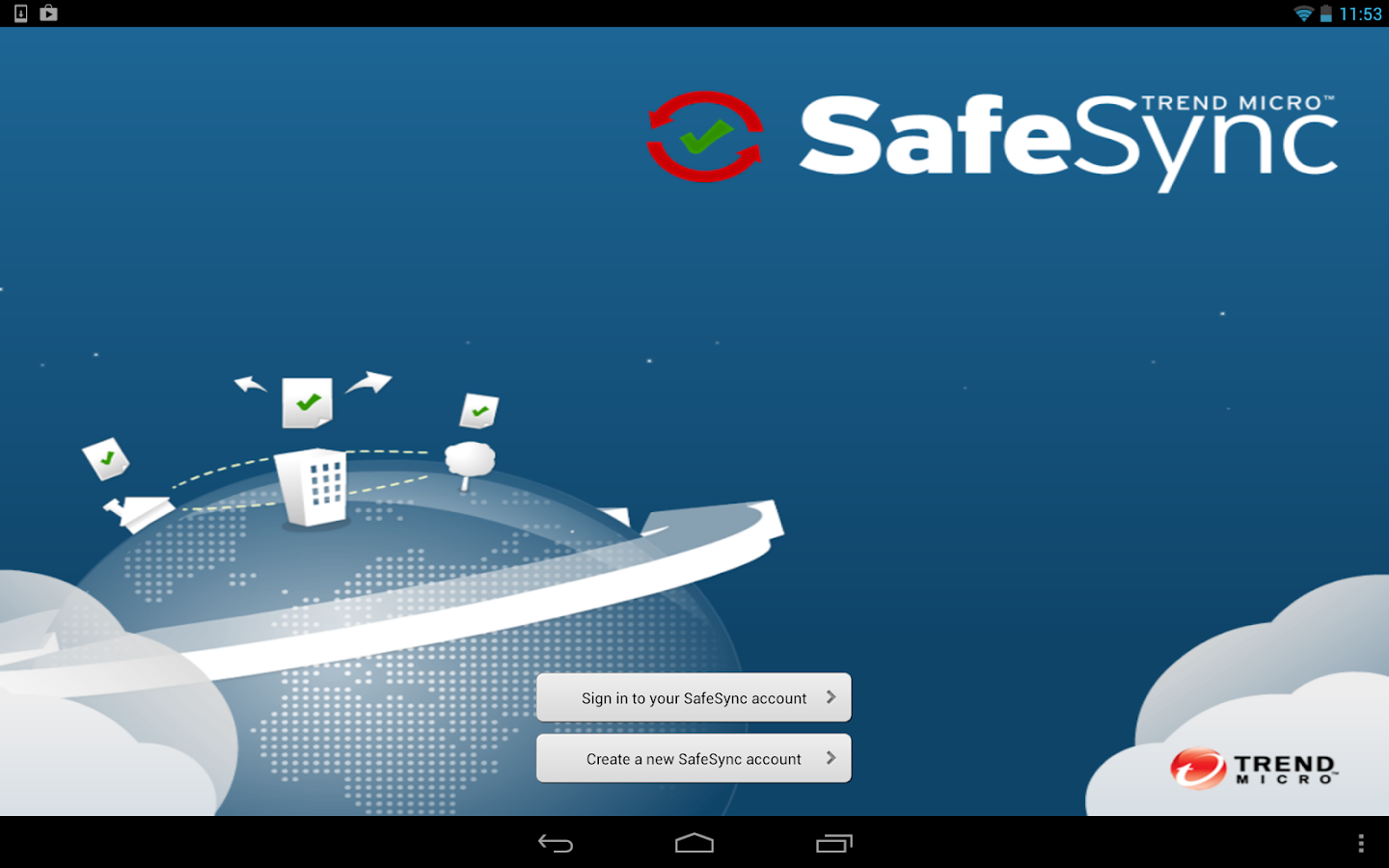 SafeSync™ - screenshot