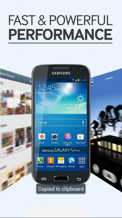 Galaxy S4 mini Retailmode - screenshot