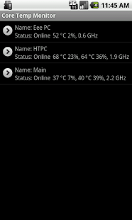 Core Temp Monitor - screenshot thumbnail