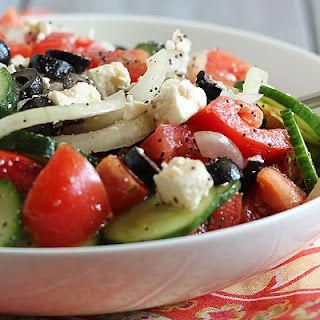 Greek Summer Salad.