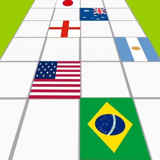 World Cup 2014 Tiles Ball Flag
