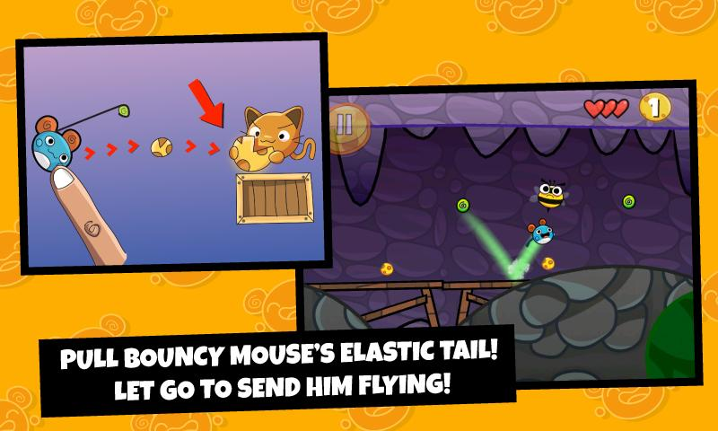 Bouncy Mouse- screenshot